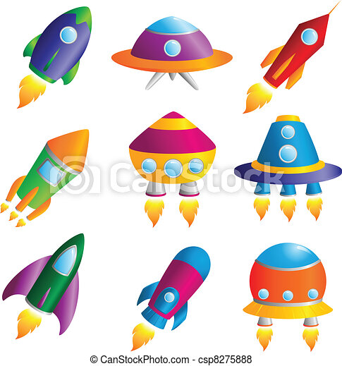 Rockets icons - csp8275888