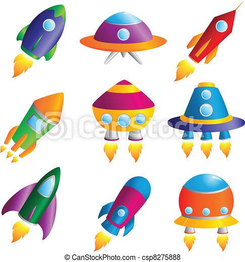 Rockets icons - csp8275888