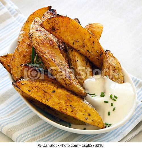 Potato Wedges - csp8276018