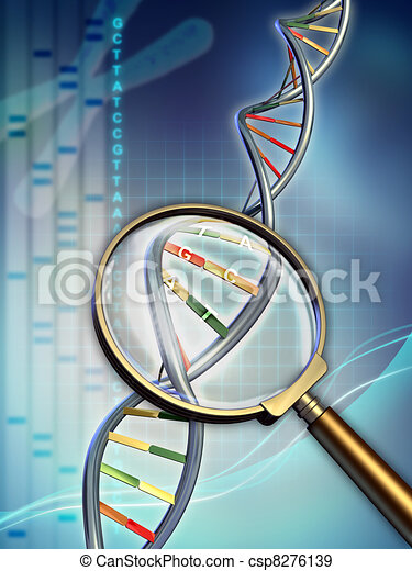 Dna analysis - csp8276139