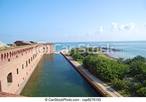 fort jefferson boundary  - csp8276193