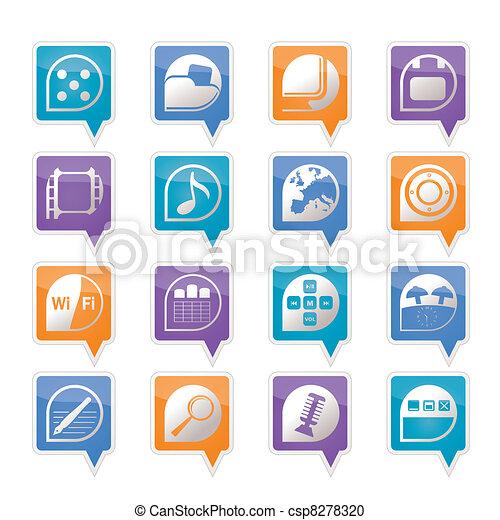Phone Performance, Internet, Office - csp8278320