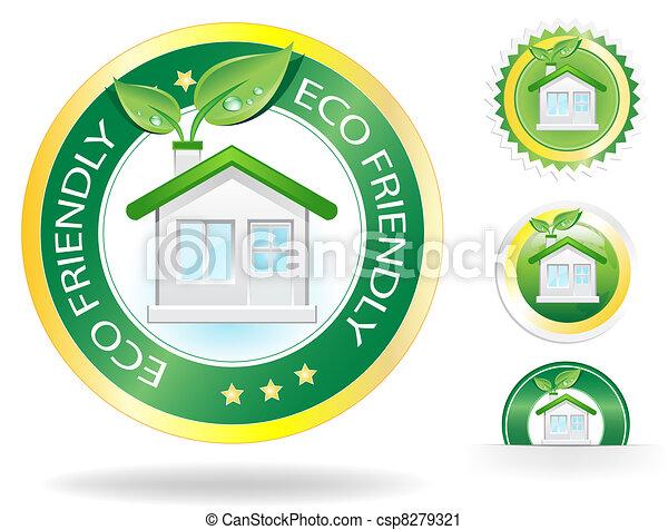 Eco House - csp8279321