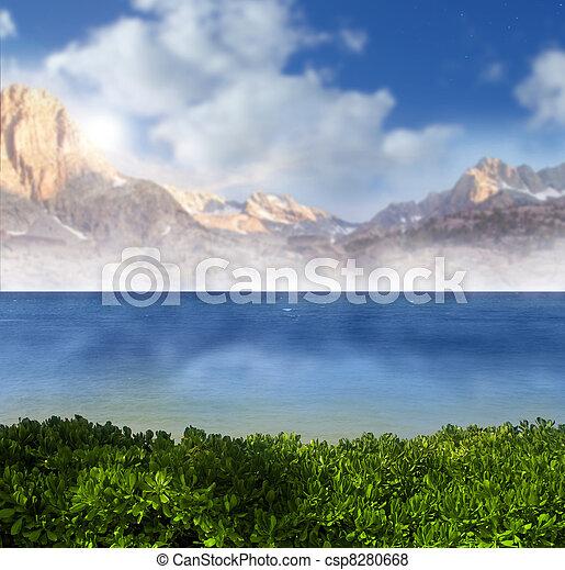 Heavenly landscape - csp8280668