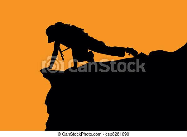 rock climbing - csp8281690