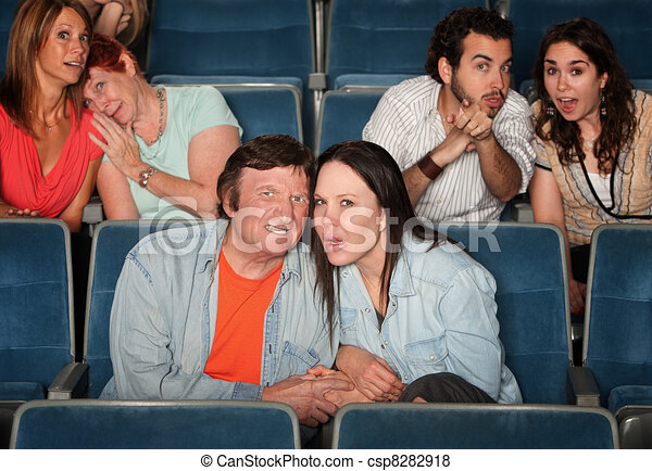 Upset Spectators - csp8282918
