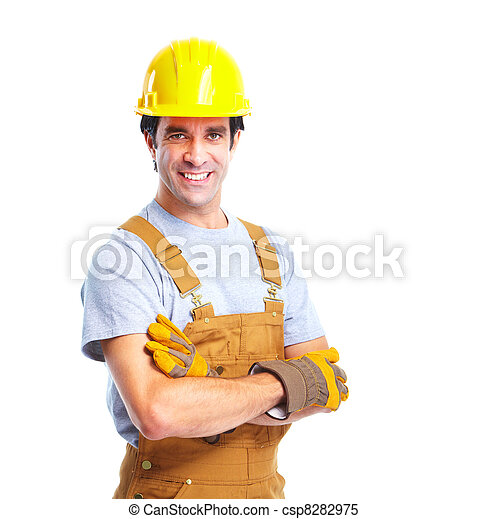 Industrial worker. - csp8282975