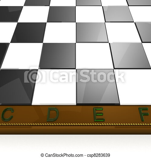 macro chess board - csp8283639