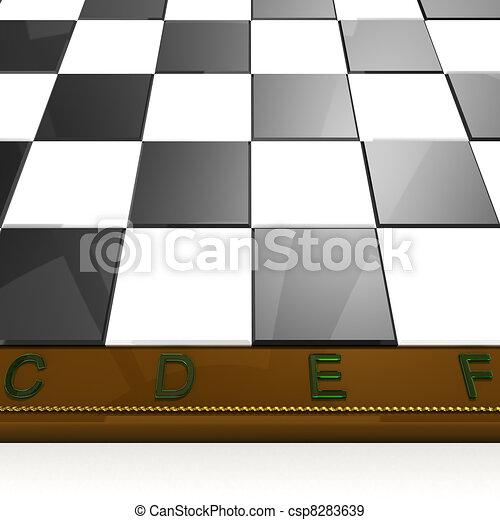 macro chess board - csp8283639