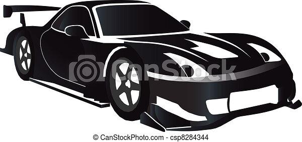 Race car - csp8284344