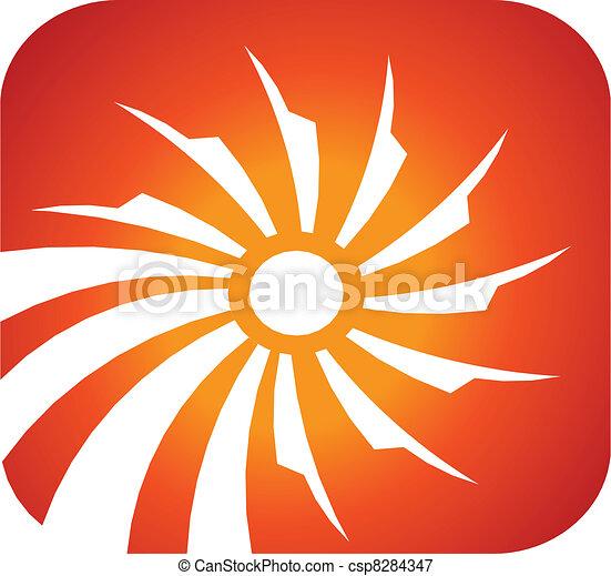 Solar rays - csp8284347