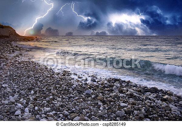 Storm over Marine Coast