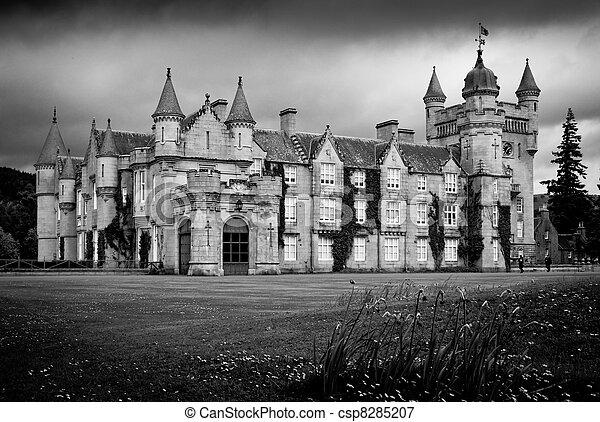 Balmoral Castle - csp8285207