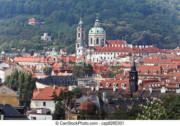 prague, st. nicholas church - csp8285301