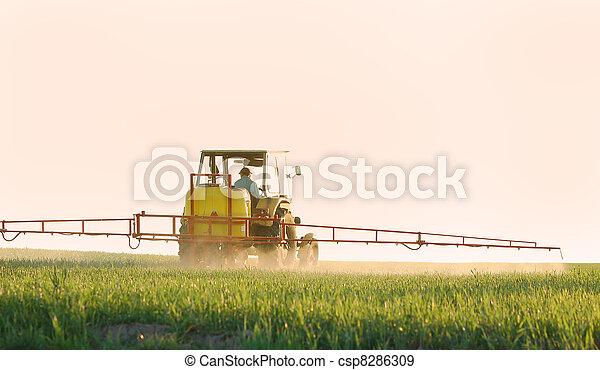 Spraying the Crop - csp8286309
