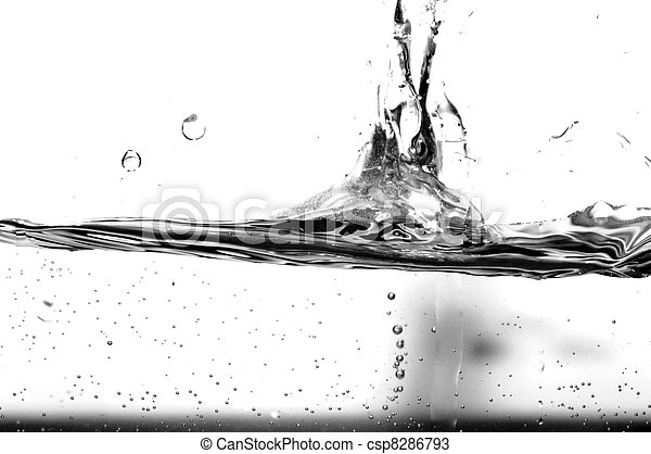 Stock Photos Of Black And White Water Splash Abstract