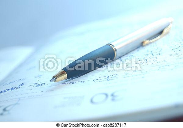 Fountain pen and organizer
