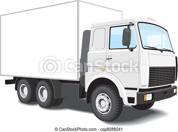 Delivery truck - csp8288241