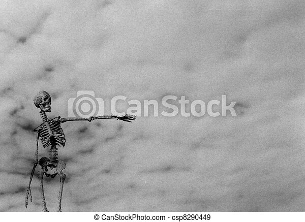 Skeleton pointing - csp8290449