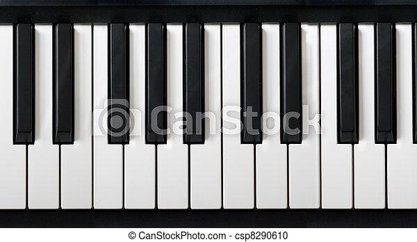 鋼琴, 電子的鍵盤 - csp8290610
