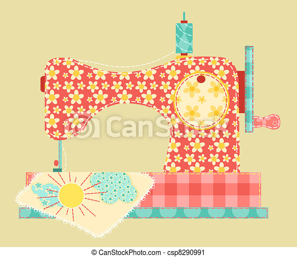 Sewing machine. - csp8290991