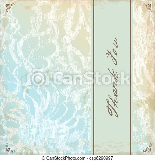 Greeting card with copy space  - csp8290997