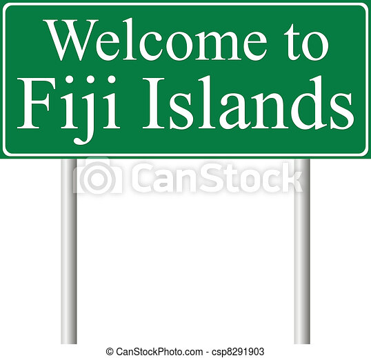 vectors of welcome to fiji islands  concept road sign oklahoma clip art black and white oklahoma clip art free