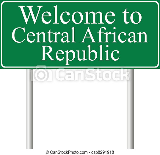 Welcome to Central African Republic - csp8291918