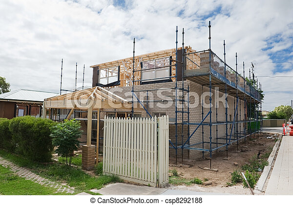 New home construction - csp8292188