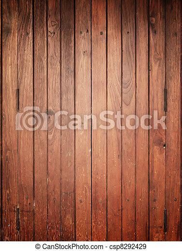 Wood panel for background Center light - csp8292429