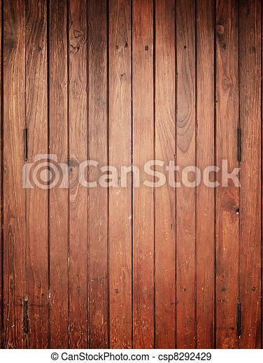 Wood panel for background Center light - csp8292429