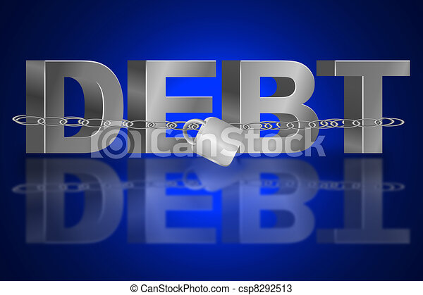 The debt trap. - csp8292513