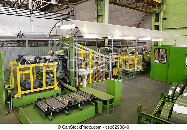 production machine for cutting metal plates - csp8293640