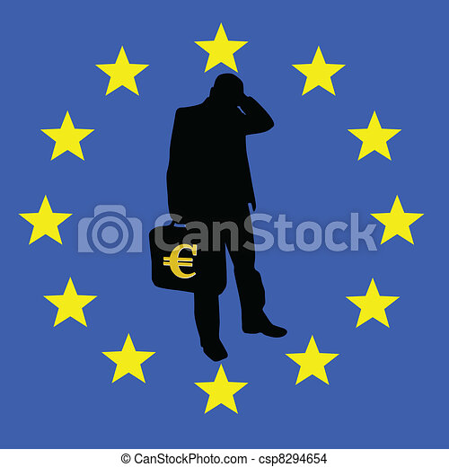 concern for the survival of the euro - csp8294654