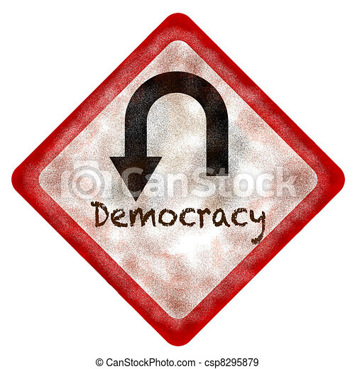 Democracy - csp8295879