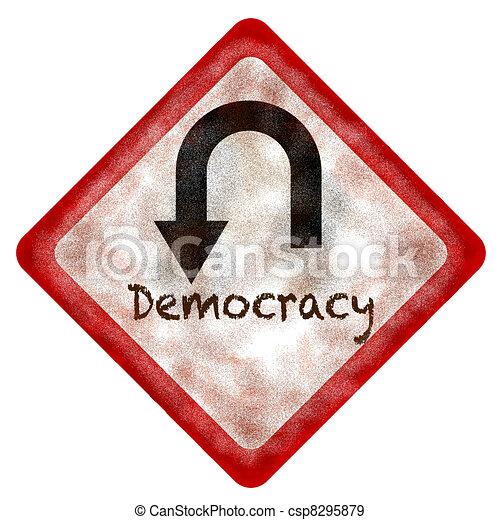 Democracy - csp8295879