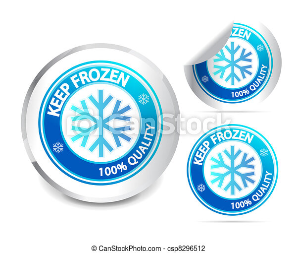Keep frozen label - csp8296512