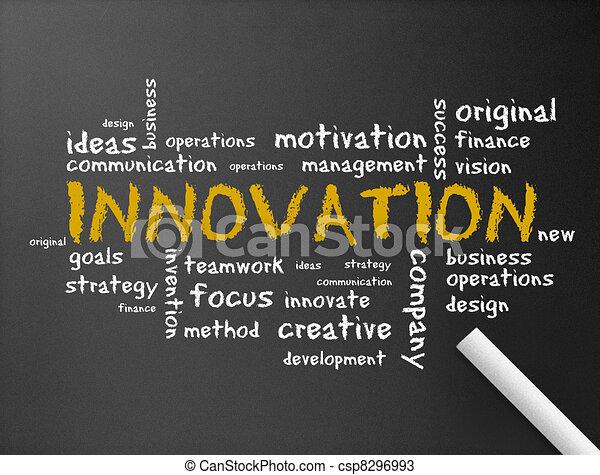 Chalkboard - Innovation - csp8296993