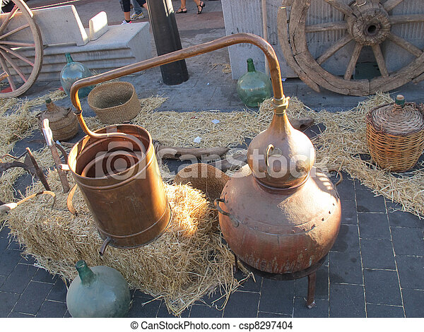 old copper stills - csp8297404
