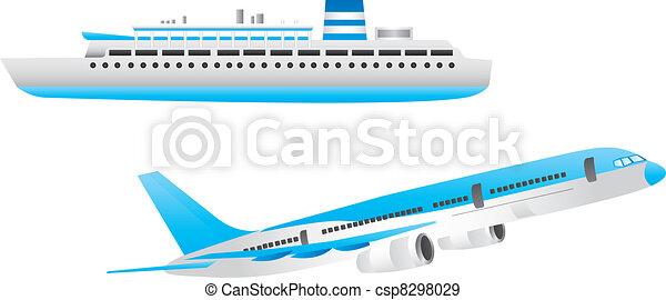 ship and aircraft - csp8298029