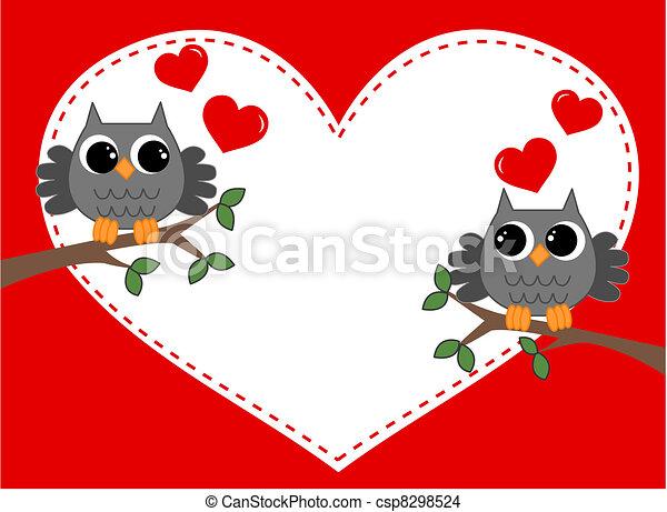 valentines day celebration - csp8298524