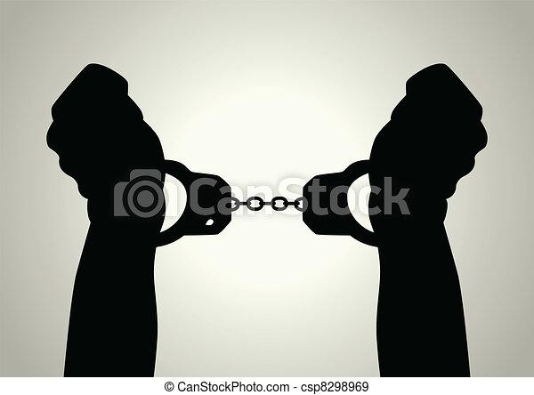 Handcuffed - csp8298969