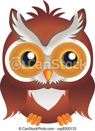 Nocturnal Owl - csp8300133
