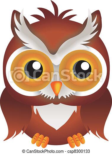 Nocturnal Owl - csp8300133