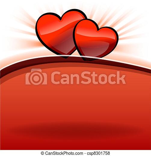 shine hearts - csp8301758