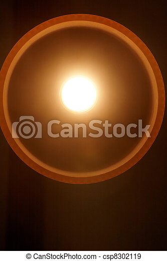 A light bulb lit up - csp8302119