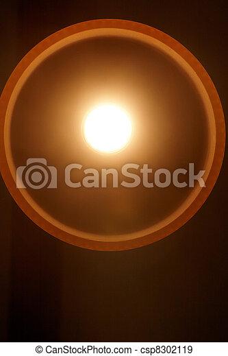 A light bulb lit up - csp8302119