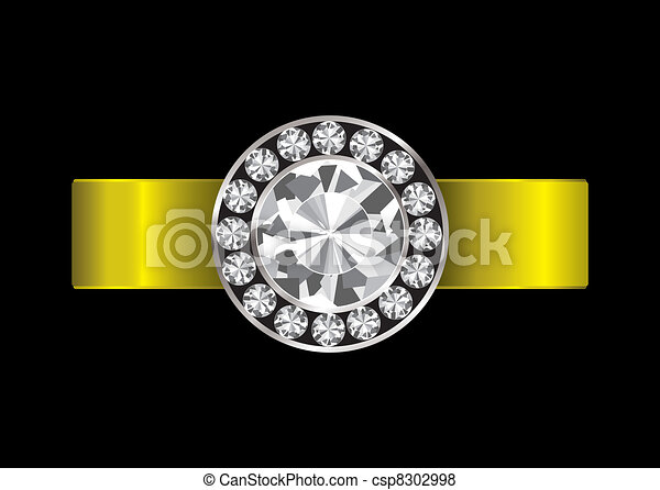 Engagement ring diamond - csp8302998