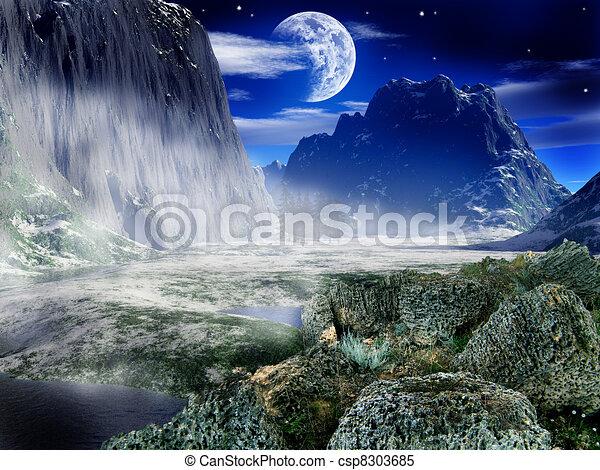 Fantasy landscape - csp8303685