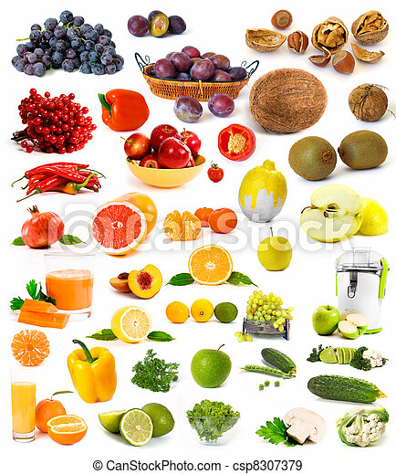 Big collection of vegetables - csp8307379